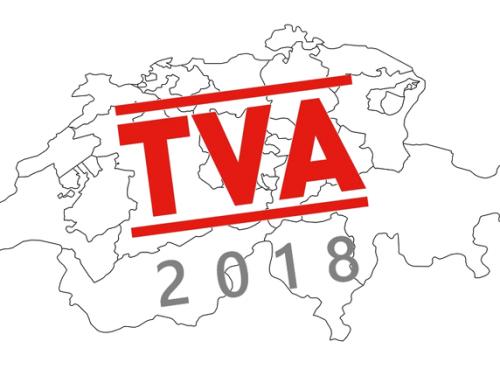 Les taux de TVA changent en Suisse