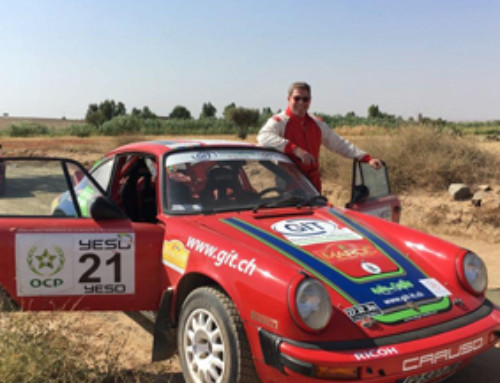 GIT in the TOP TEN of the historic rally of Morocco.