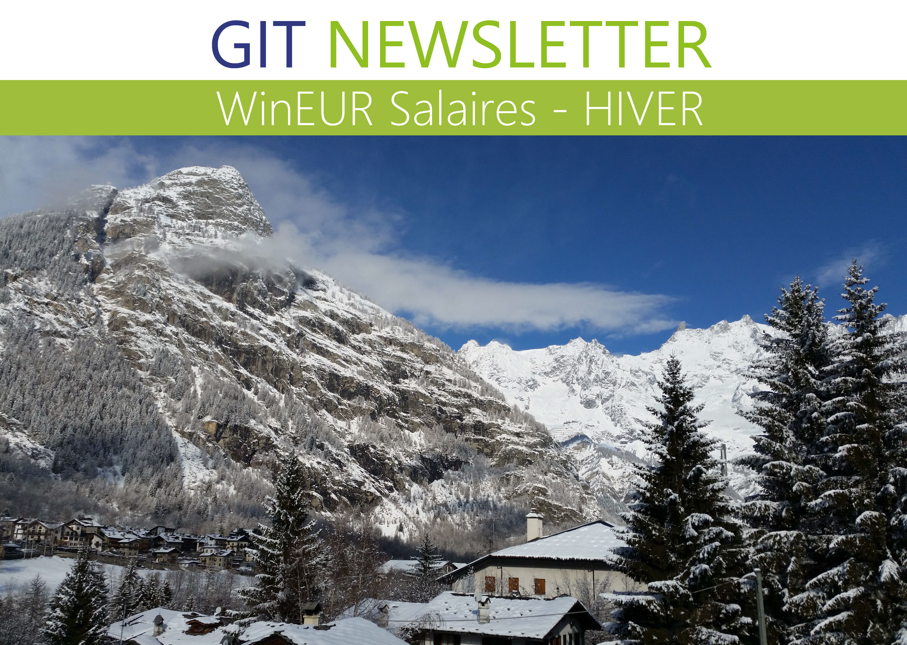 Newsletter Salaires hiver 2019