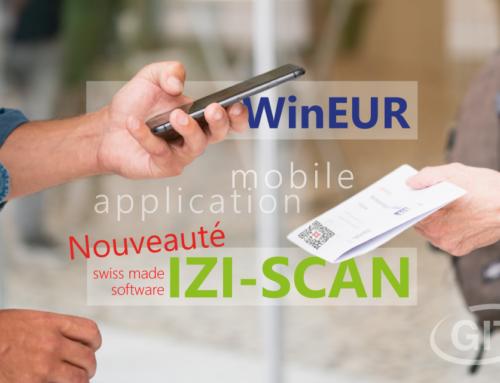 Nouveau : IZI-SCAN l'application gratuite pour lire les QR Codes